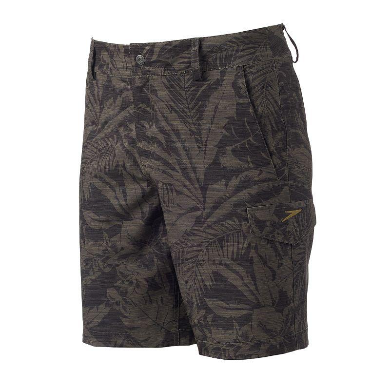 Men's Speedo Floral Hyrbrid Swim Shorts