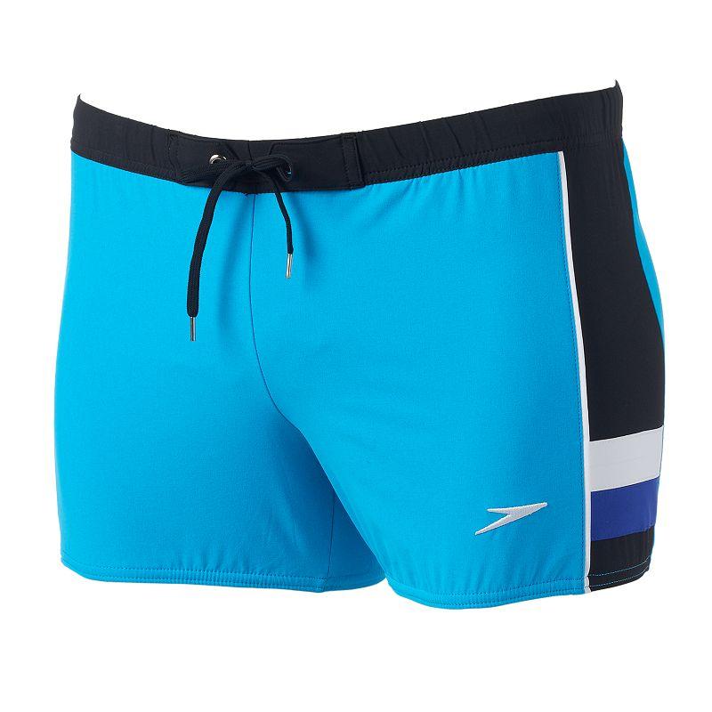 Men's Speedo Stretch Square Leg Swim Trunks