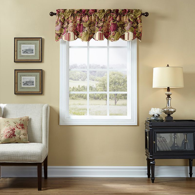 Waverly Floral Flourish Valance - 60'' x 16''