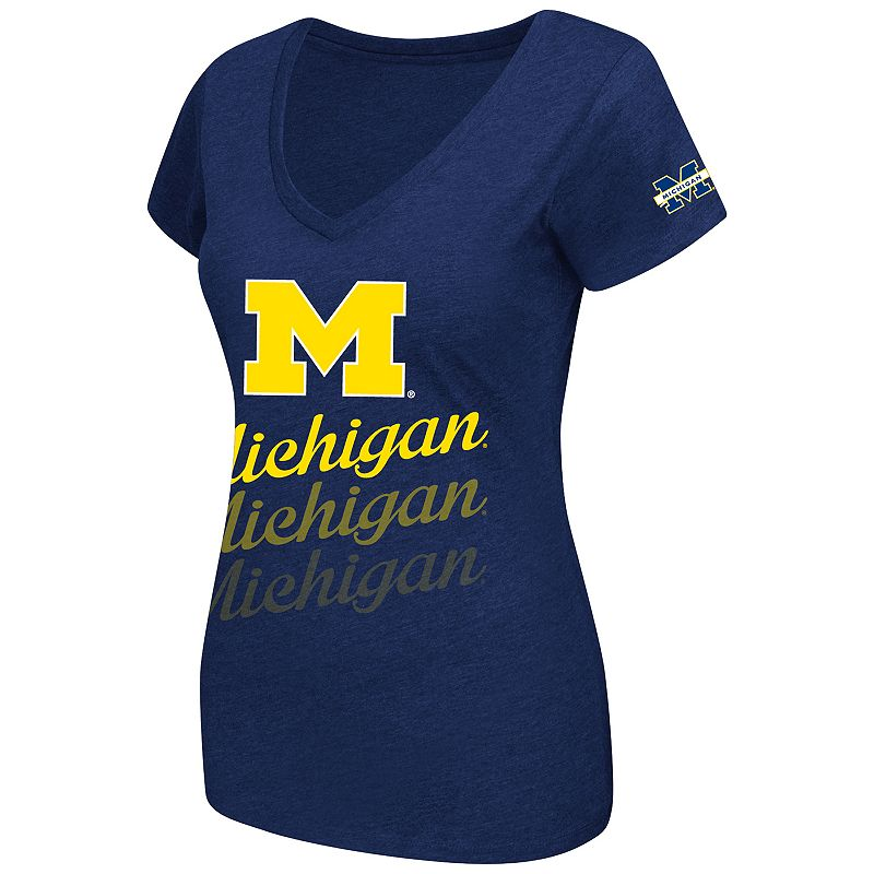 Women's Campus Heritage Michigan Wolverines Sunset Tee