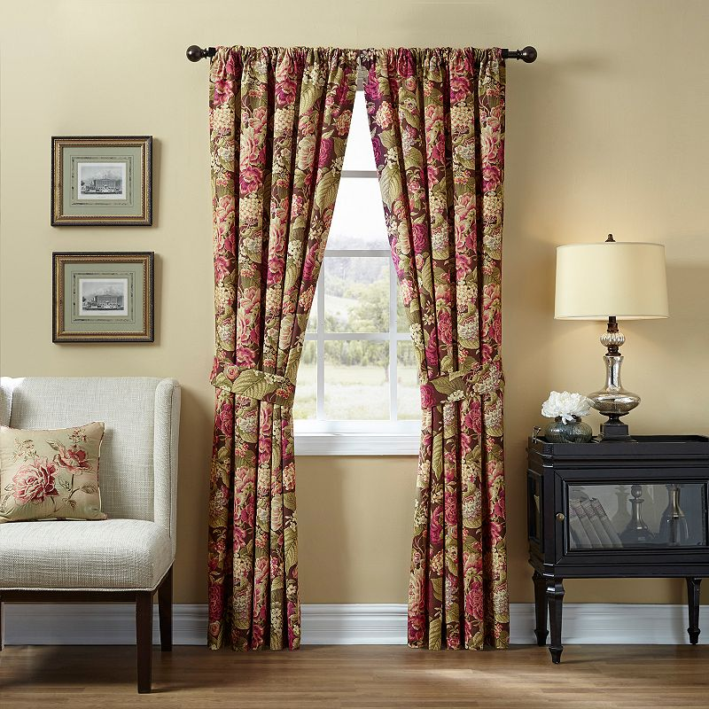 Waverly 2-pack Floral Flourish Cordial Curtains