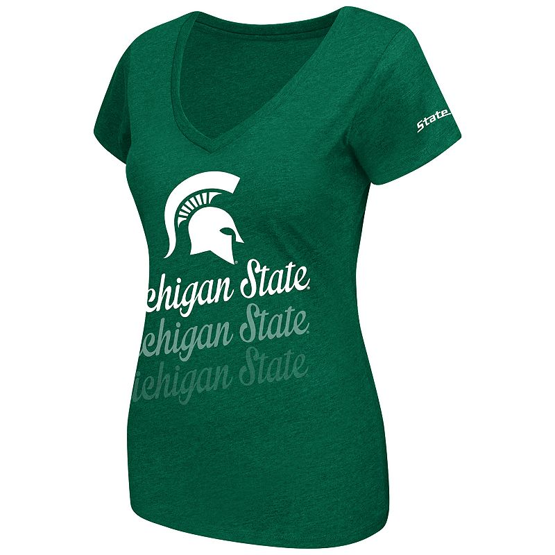 Women's Campus Heritage Michigan State Spartans Sunset Tee