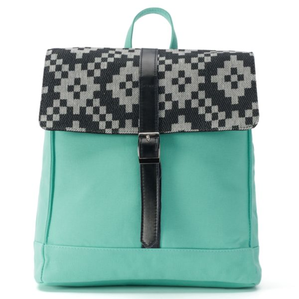 Sage & Harper Pixelated Backpack
