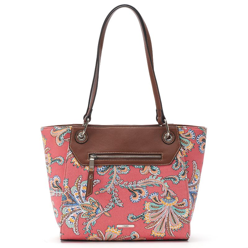 Chaps Floral Patterned Tote