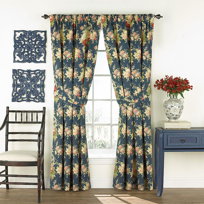 Waverly 2-pack Sanctuary Rose Curtains - 50'' x 84''