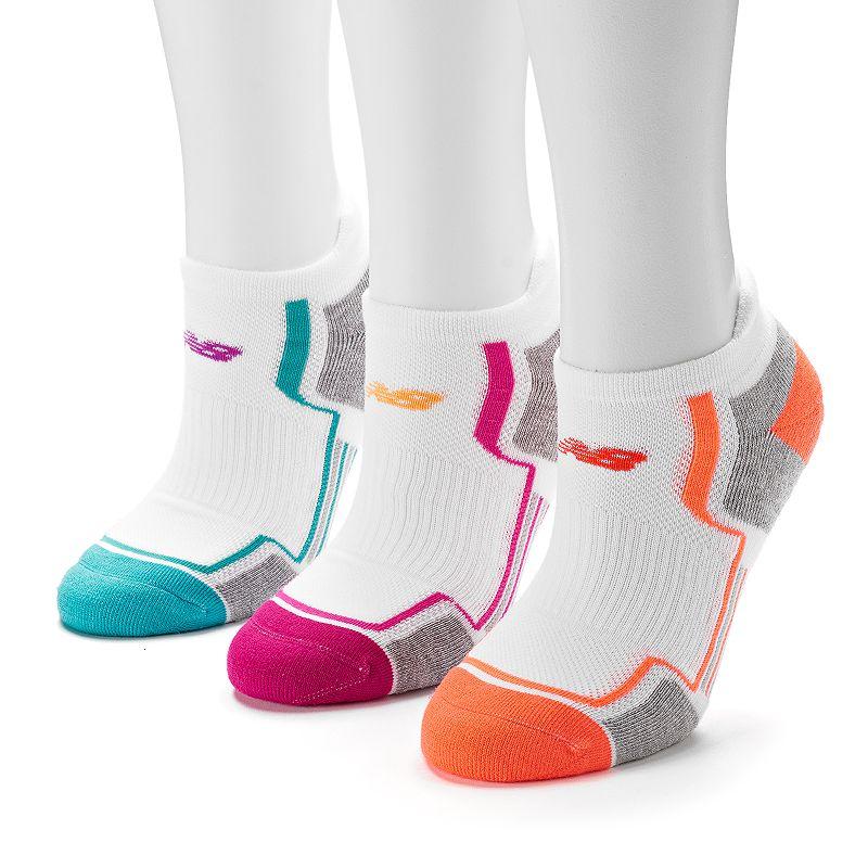 Women's New Balance 3-pk. Performance Tabbed Low-Cut Socks