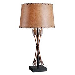 Kenroy Home Bound Arrow Table Lamp