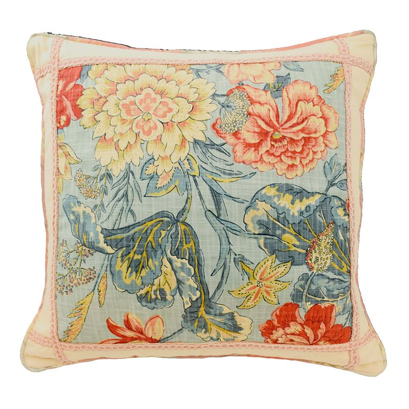 Waverly Floral Throw Pillow Kohl s