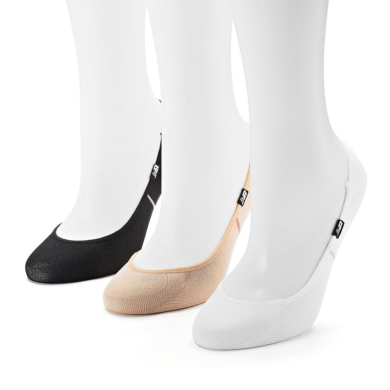 Women's New Balance 3-pk. Performance Liner No-Show Socks