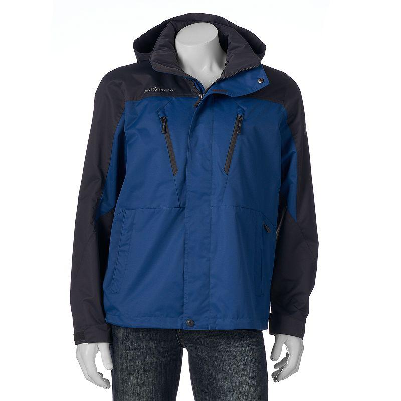 Men's ZeroXposur Crusade Colorblock Hooded Rain Jacket