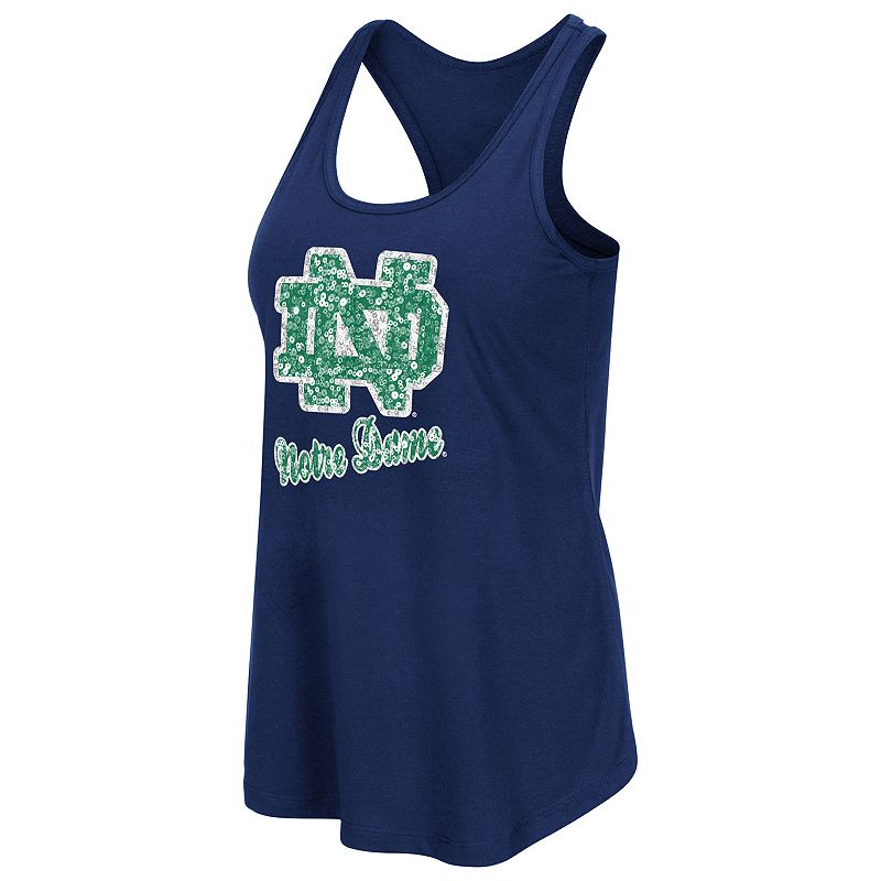 Women's Campus Heritage Notre Dame Fighting Irish Spark Sequined Tank Top