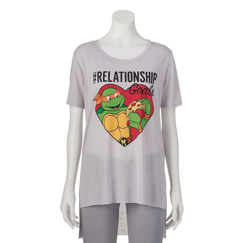 Juniors' Teenage Mutant Ninja Turtles ''Relationship Goals'' T-Shirt