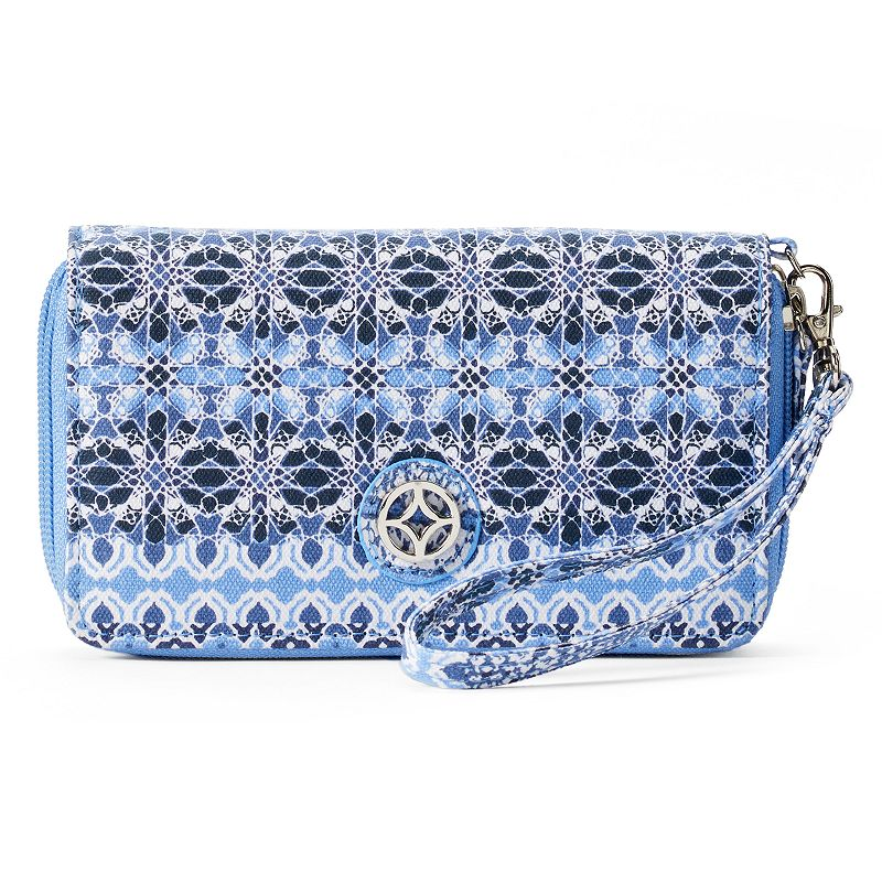 Croft & Barrow® Grabriella Geometric Wristlet