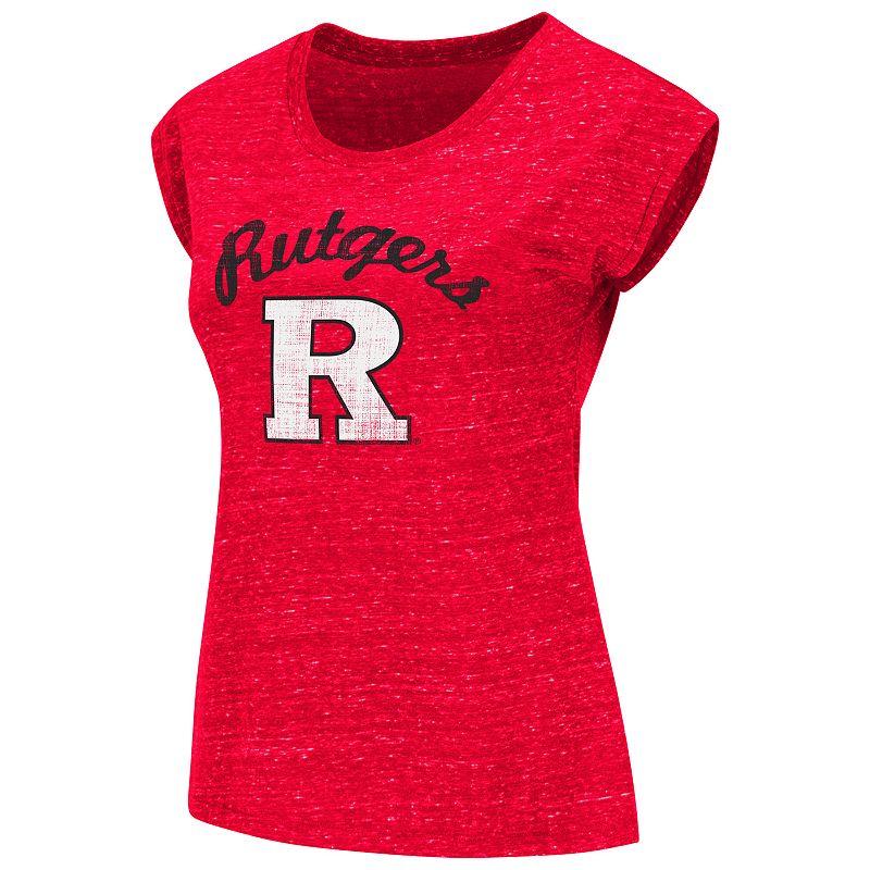 Juniors' Campus Heritage Rutgers Scarlet Knights Dolman Tee