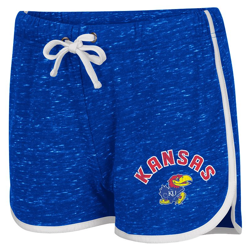 Juniors' Campus Heritage Kansas Jayhawks Gym Shorts
