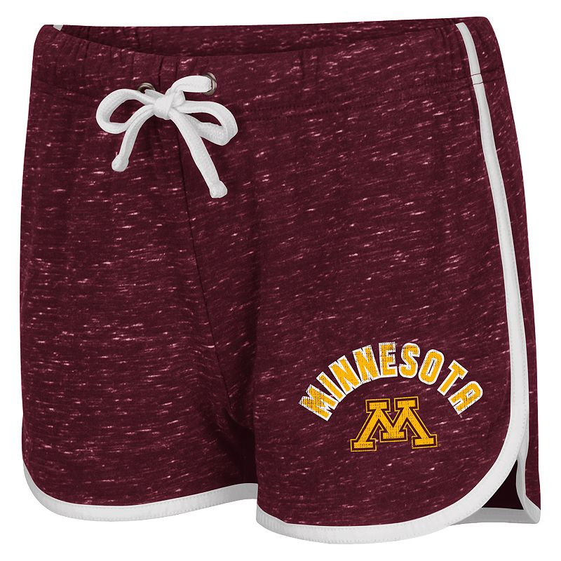 Juniors' Campus Heritage Minnesota Golden Gophers Gym Shorts