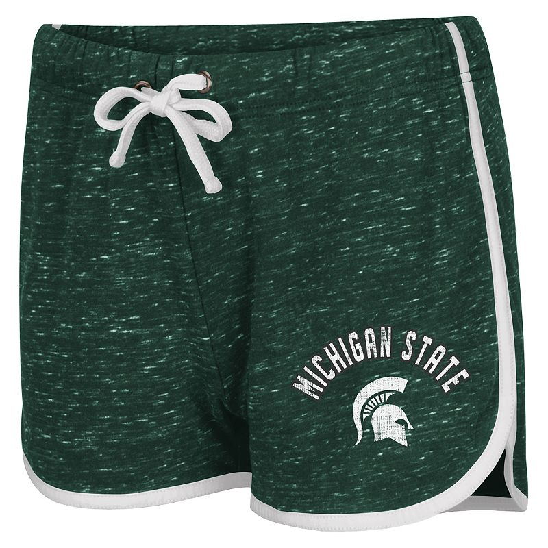 Juniors' Campus Heritage Michigan State Spartans Gym Shorts