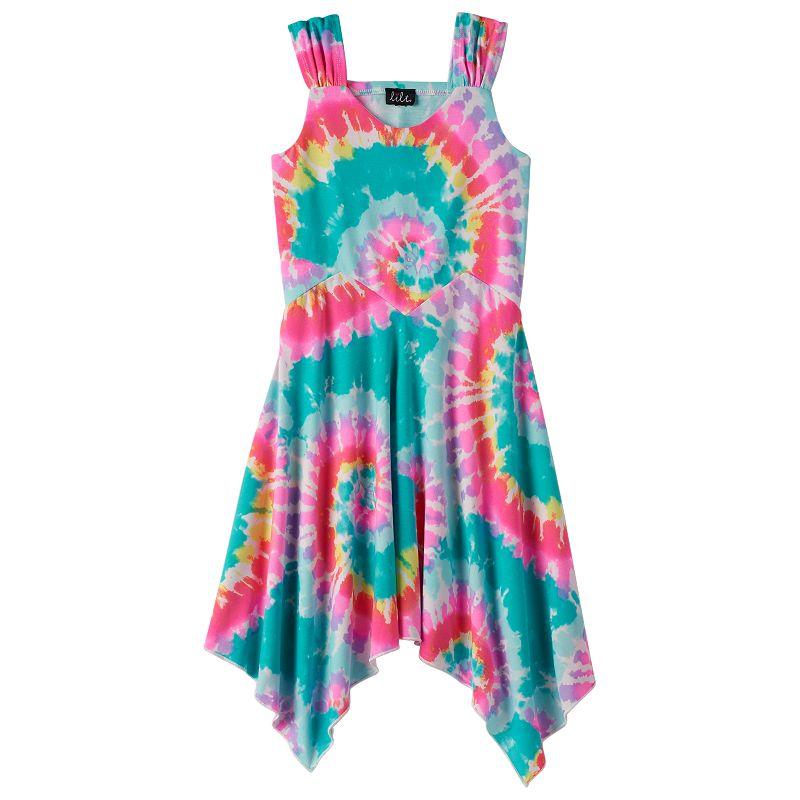 Girls 7-16 lilt Tie-Dyed Dress