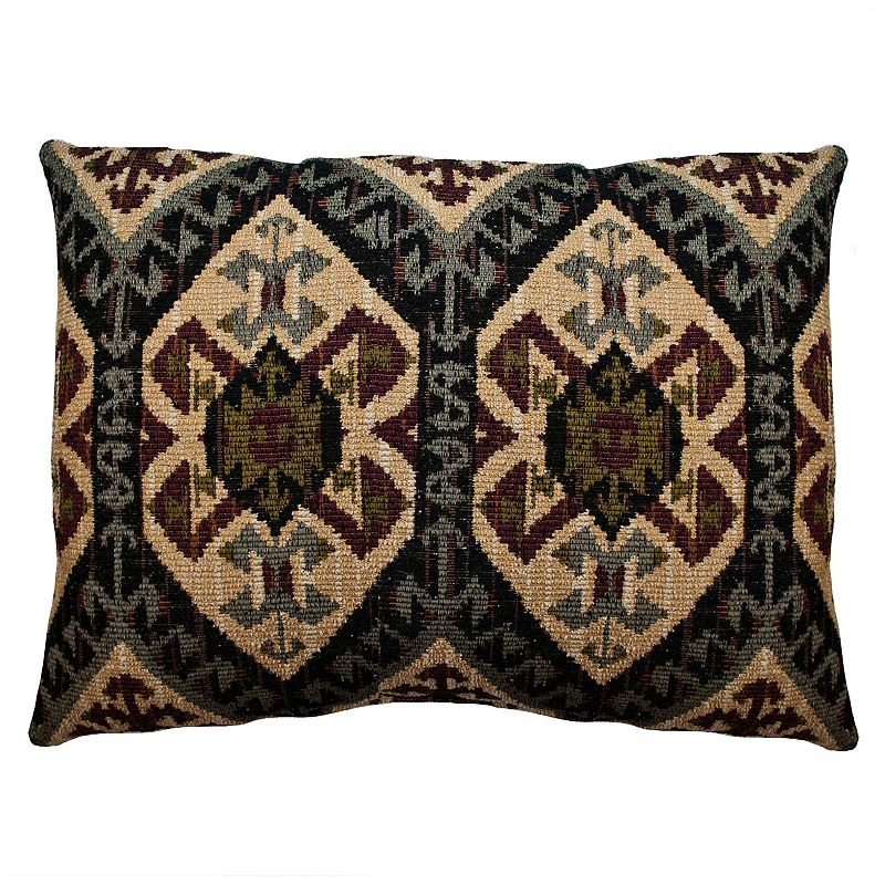 Sherry Kline Ripple Effect Chenille Oblong Throw Pillow