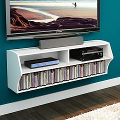 Prepac Altus Wall Mounted TV Stand by