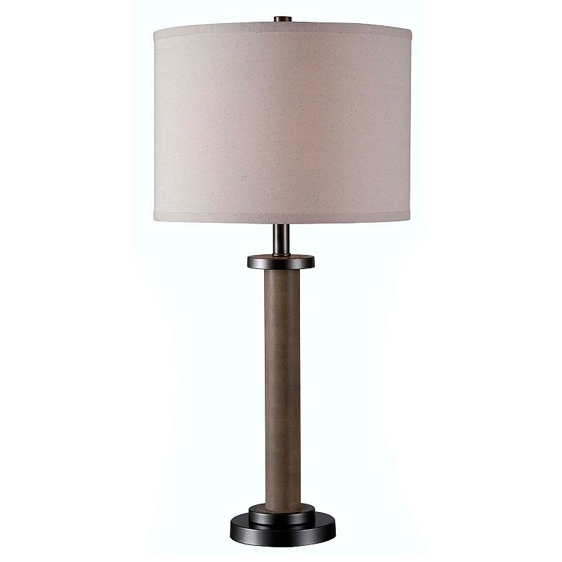Kenroy Home Spool Table Lamp