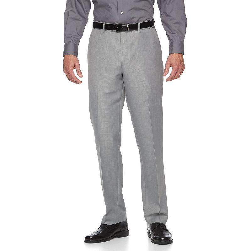 Men's Croft & Barrow® Classic-Fit Crosshatch Dress Pants