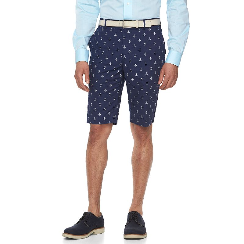 Men's WD.NY Slim-Fit Anchor Suit Shorts
