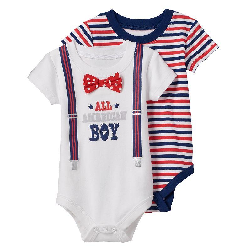 Baby Boy Baby Starters 2-pk.