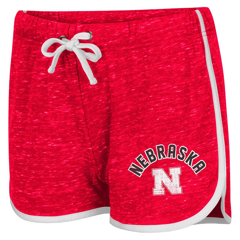 Juniors' Campus Heritage Nebraska Cornhuskers Gym Shorts