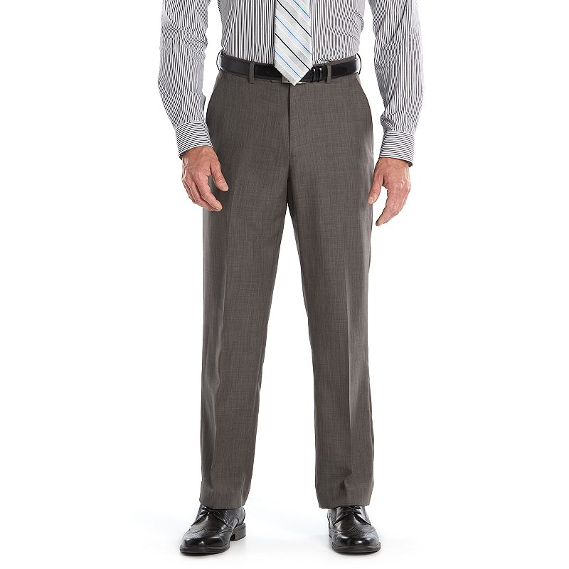 Men's Croft & Barrow® Straight-Fit Twill Dress Pants