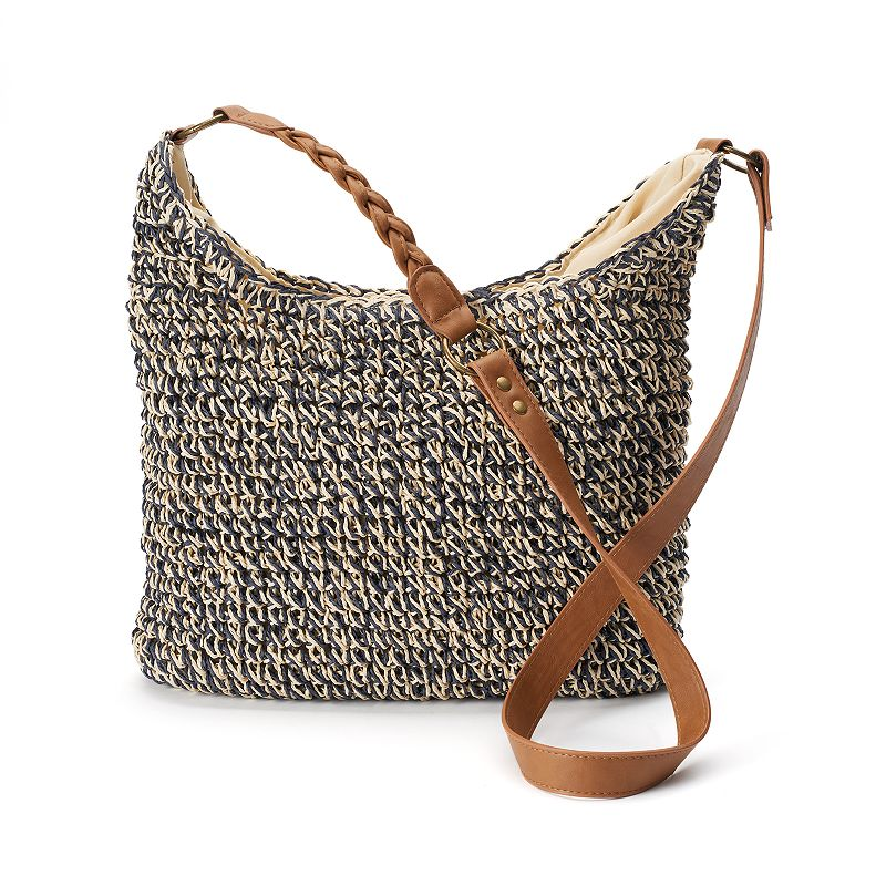 SONOMA Goods for Life™ Straw Woven Crossbody Bag