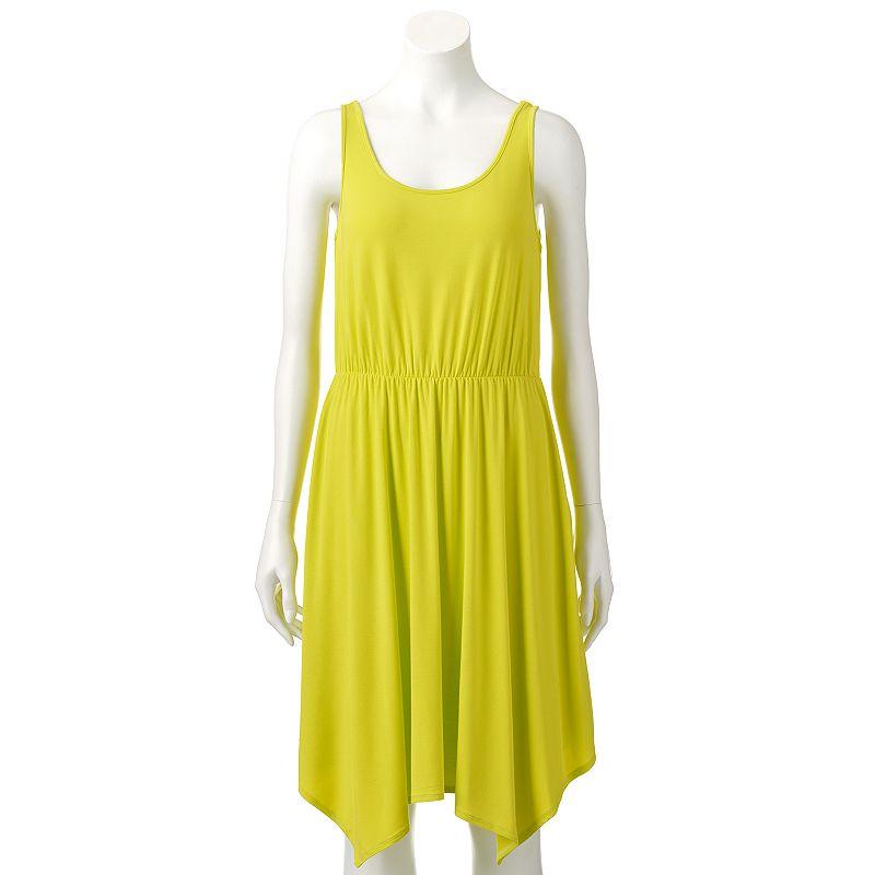 Women's Apt. 9® Shark-Bite Hem Tank Dress