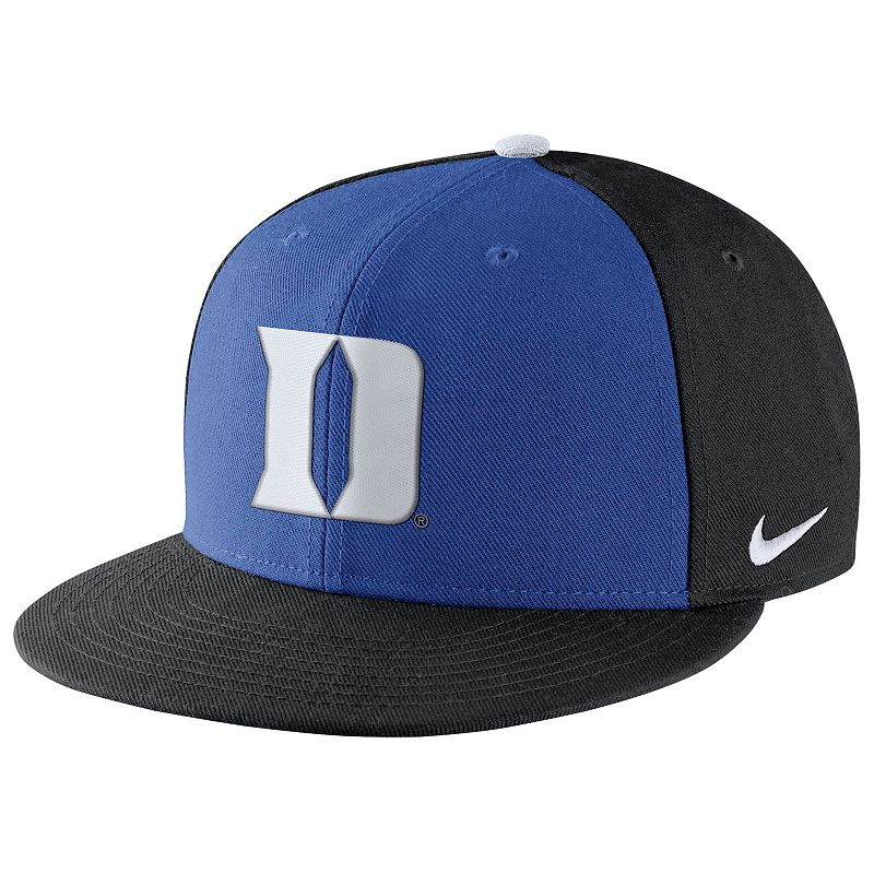 Adult Nike Duke Blue Devils Pro Verbiage Adjustable Cap