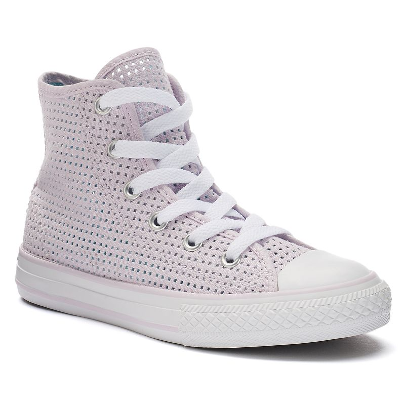 Kid's Converse Chuck Taylor All Star Perforated High-Top Sneakers