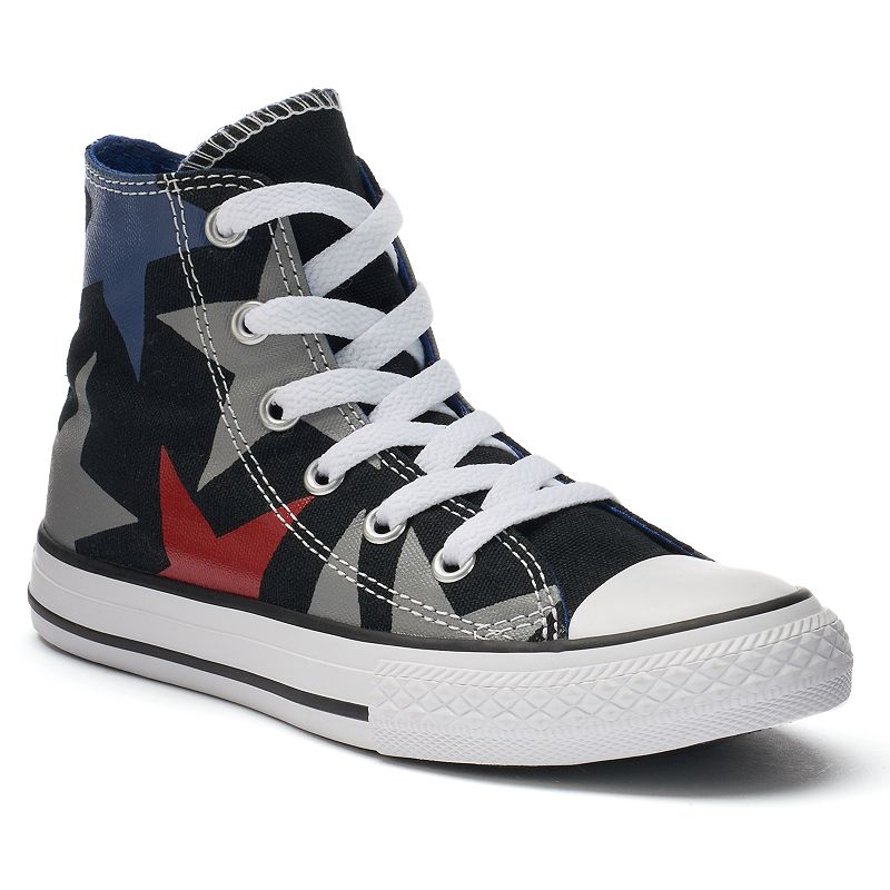 Kid's Converse Chuck Taylor All Star Print High-Top Sneakers