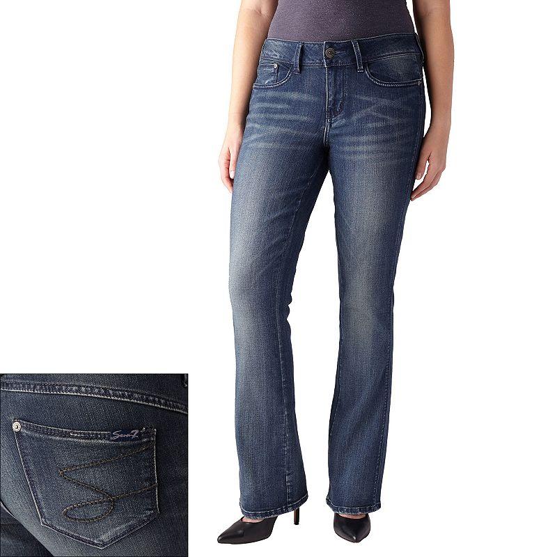 Women's Seven7 Thigh Slimmer Bootcut Jeans