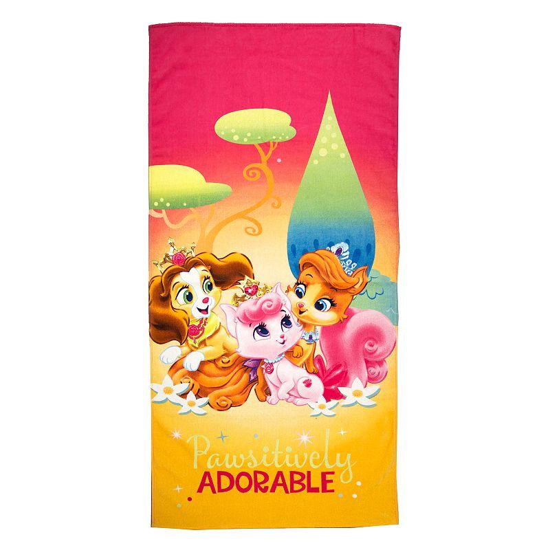 Disney's Palace Pets Positively Adorable Beach Towel