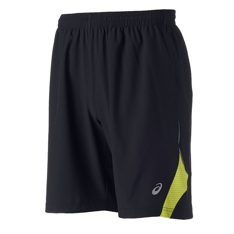 Men's Asics Pieced Stretch Shorts