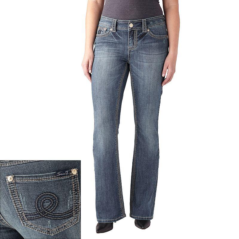 Women's Seven7 Lurex Bootcut Jeans
