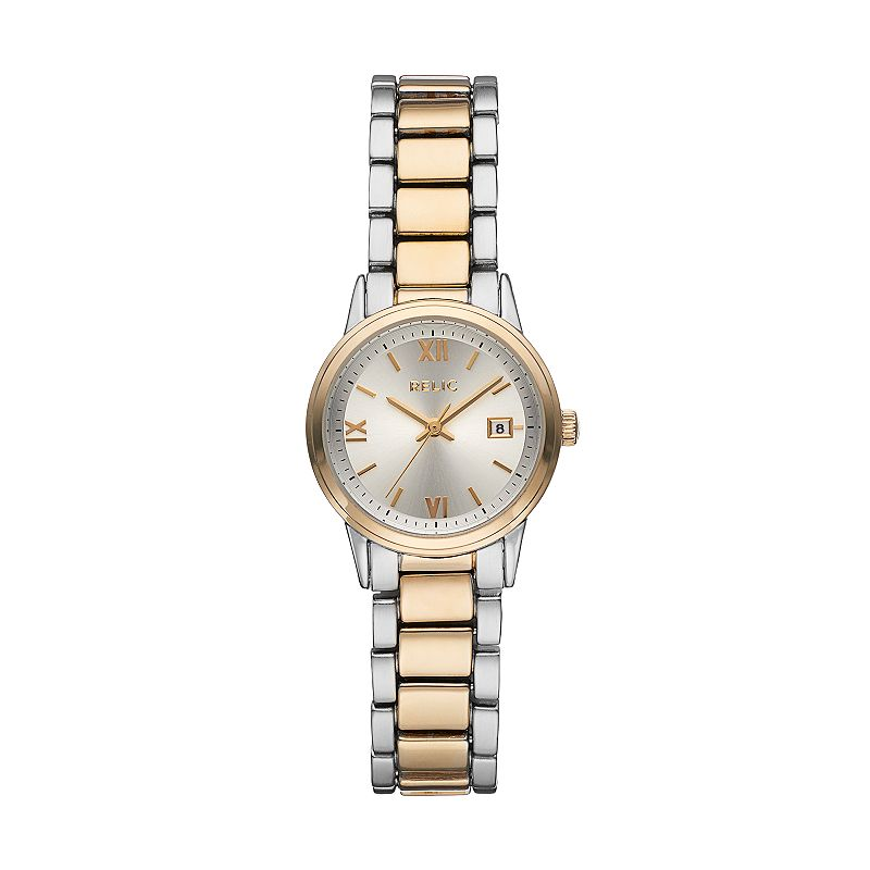 Relic Women's Dylan Two Tone Watch