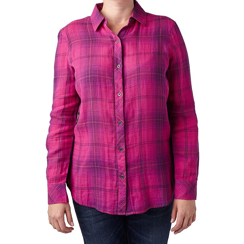 Women's Seven7 Plaid Shirt