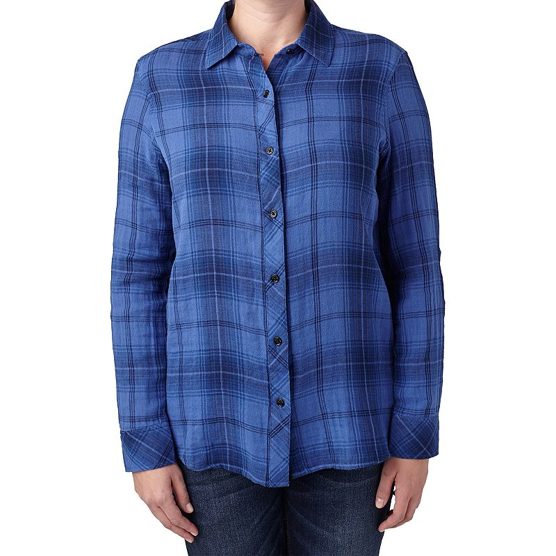 Women's Seven7 Plaid Shirt