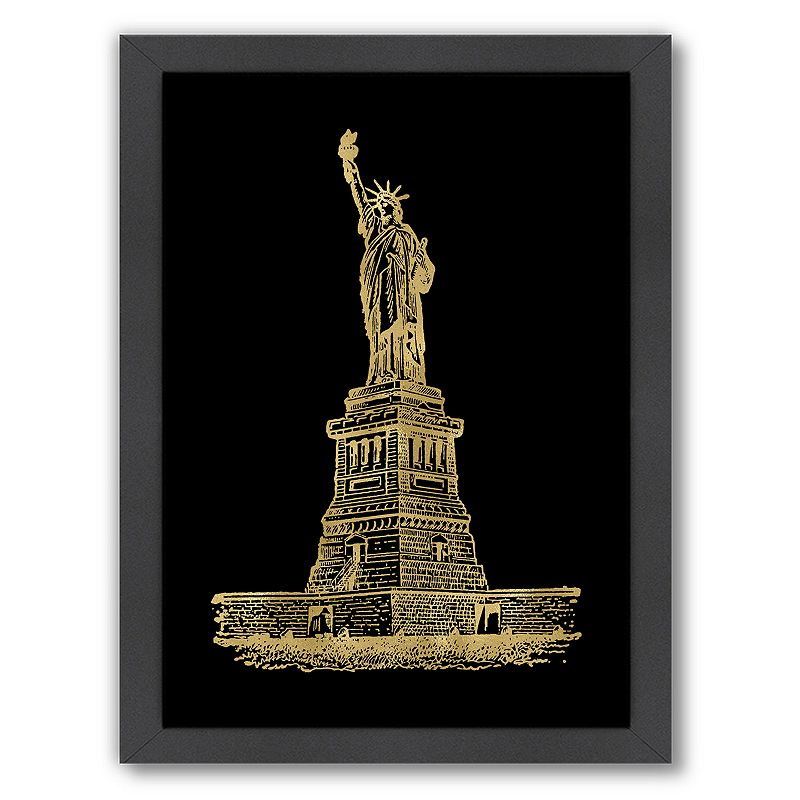 "Americanflat ""Statue Of Liberty\"" Framed Wall Art"