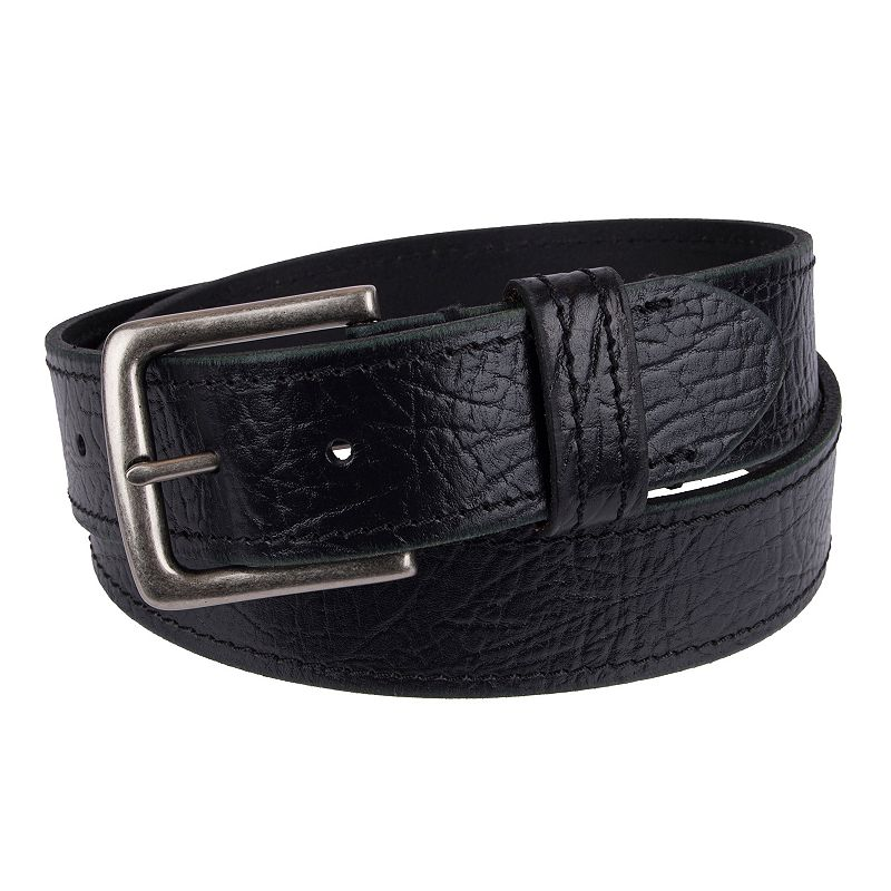 Men's Levi's Leather Saddle-Stitched Belt