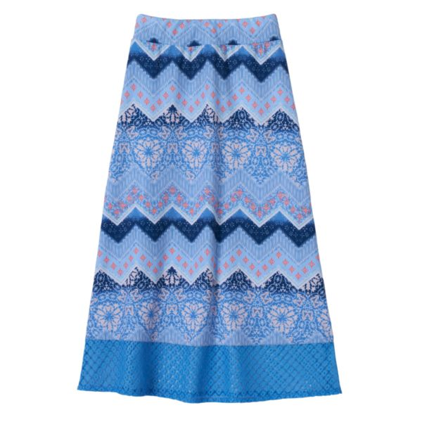 Girls 7-16 Joey B Crochet Trim Maxi Skirt