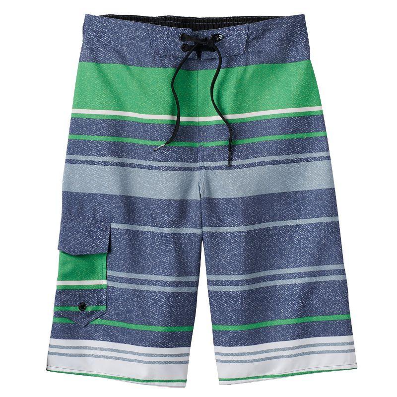 Boys 8-20 Hang Ten Cargo Swim Shorts