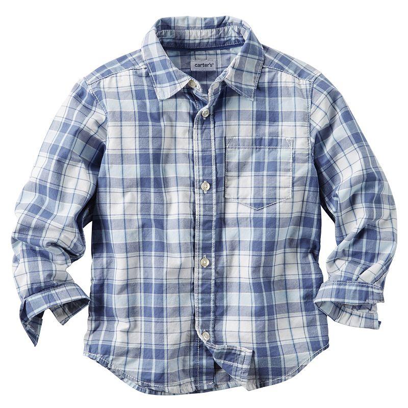 Toddler Boy Carter's Button-Down Shirt