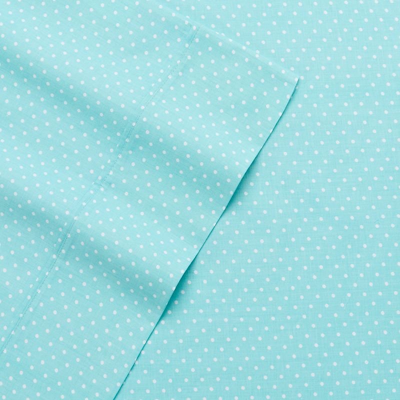 Alpine Dot 300 Thread Count Cotton Printed Sheet Set