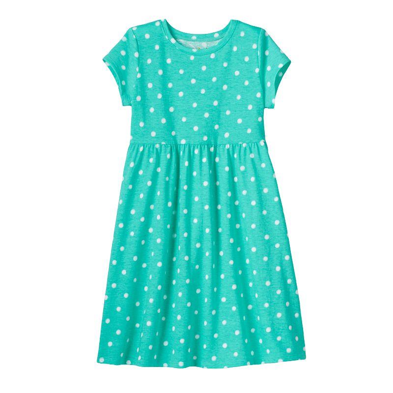 Girls 4-7 Jumping Beans® Shirred Tee Dress
