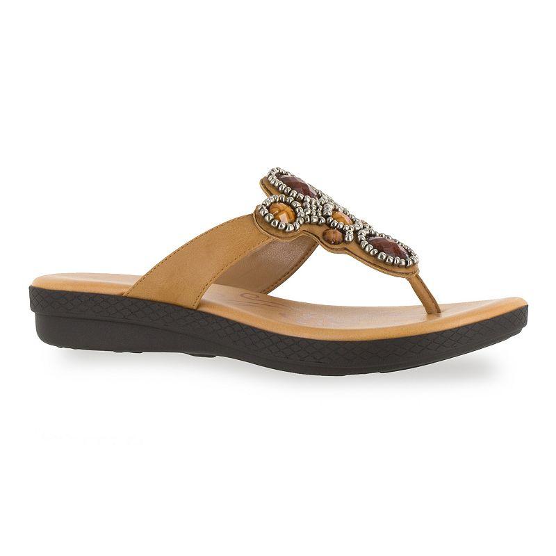 Easy Street Begem Women's Jeweled Sandals